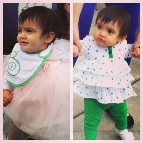 Cute Girl St Patricks Day Birthday Outfits