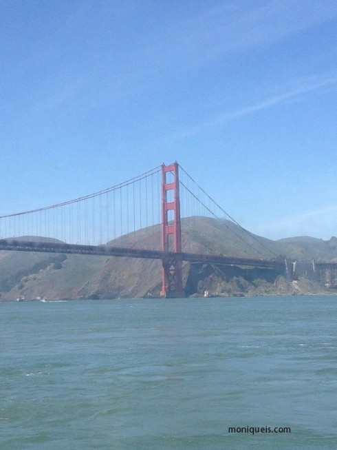 It's the Golden Gate bridge!