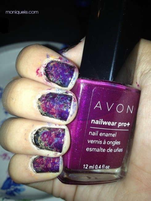 Avon Nail Wear Pro in Grape Goddess