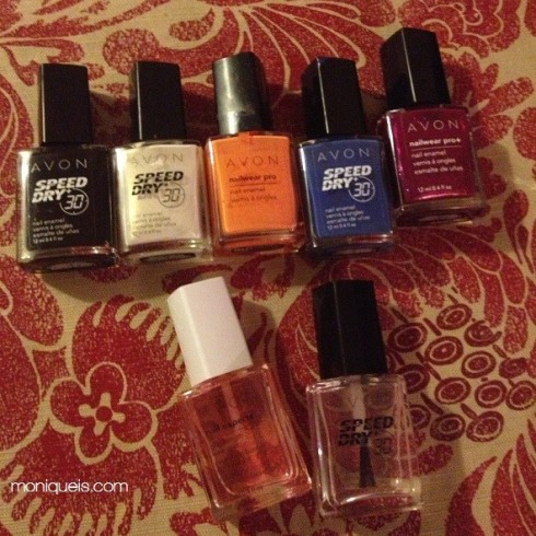 Nail Polish colors for Galaxy Nails