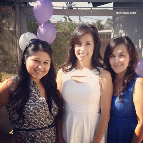These are my beautiful cousins Vanessa and Elsa who came to celebrate with me!