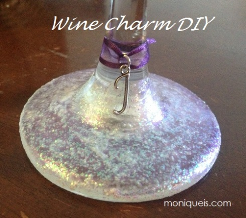 Bridesmaid Wine Glass DIY Gift Wine Charm