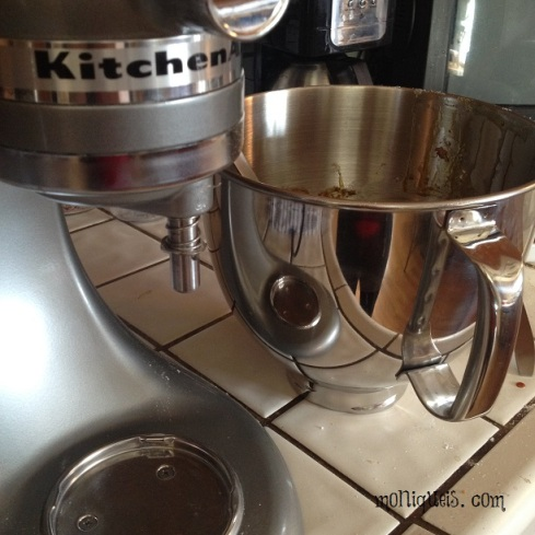 Molasses Cookies Kitchen Aid Mixer
