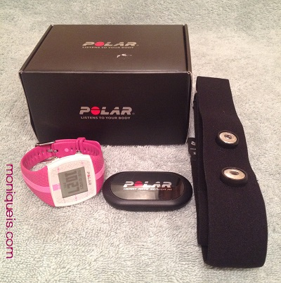 Everything that comes with the Polar FT4 Heart Monitor Watch
