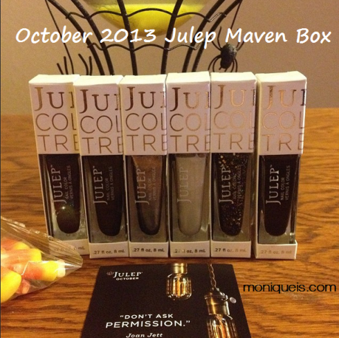 October 2013 Julep Maven Box Monique Is Blog